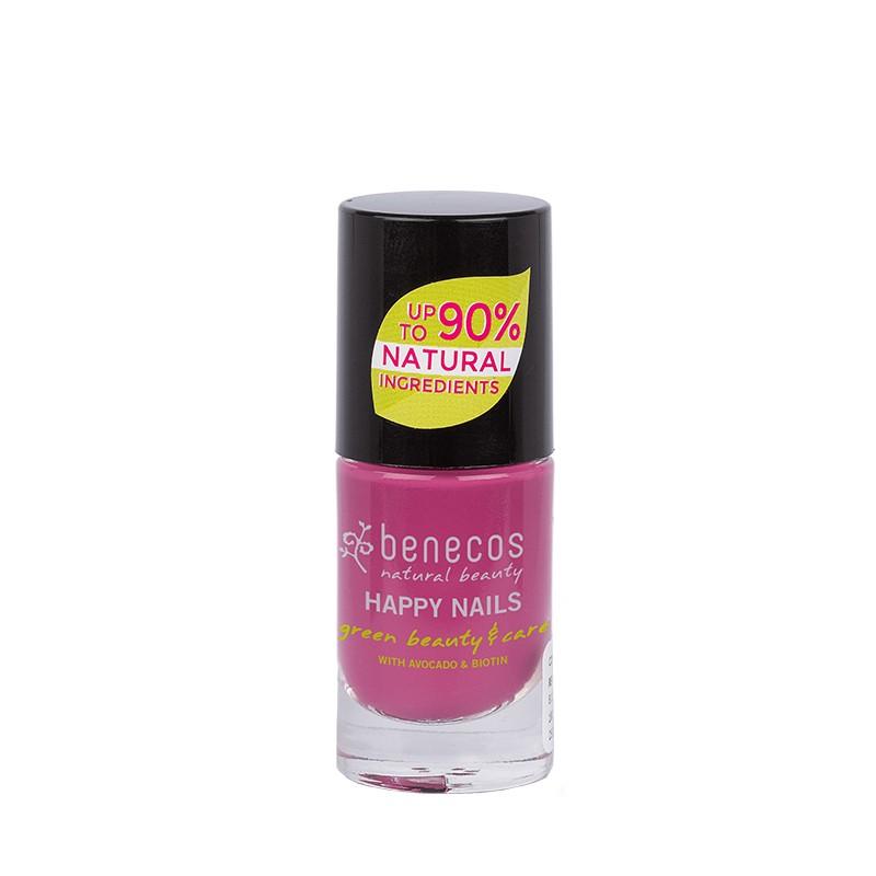 Benecos Vernis A Ongles Rose Framboise My Secret 5 Ml Benecos