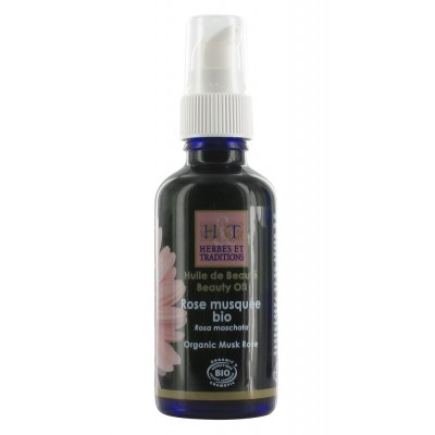 Huile Rose Musquee 50 Ml Herbes Et Traditions Plante Complement